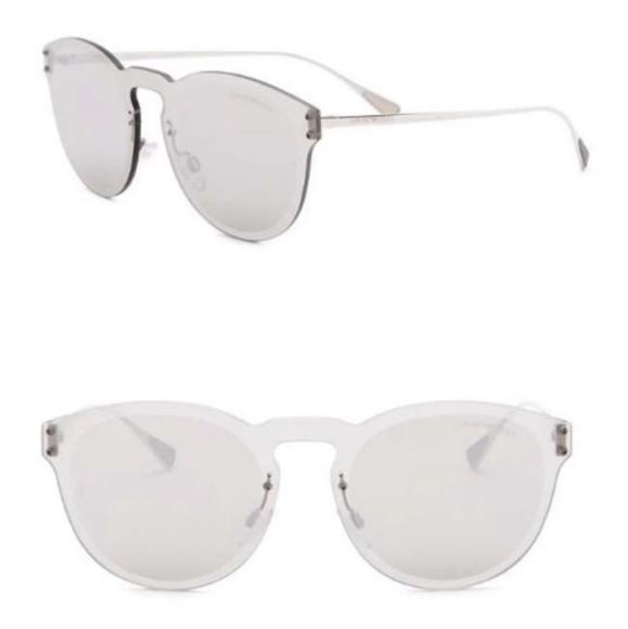 c810b9752e50 NWT Emporio Armani Round Acetate Frame Sunglasses